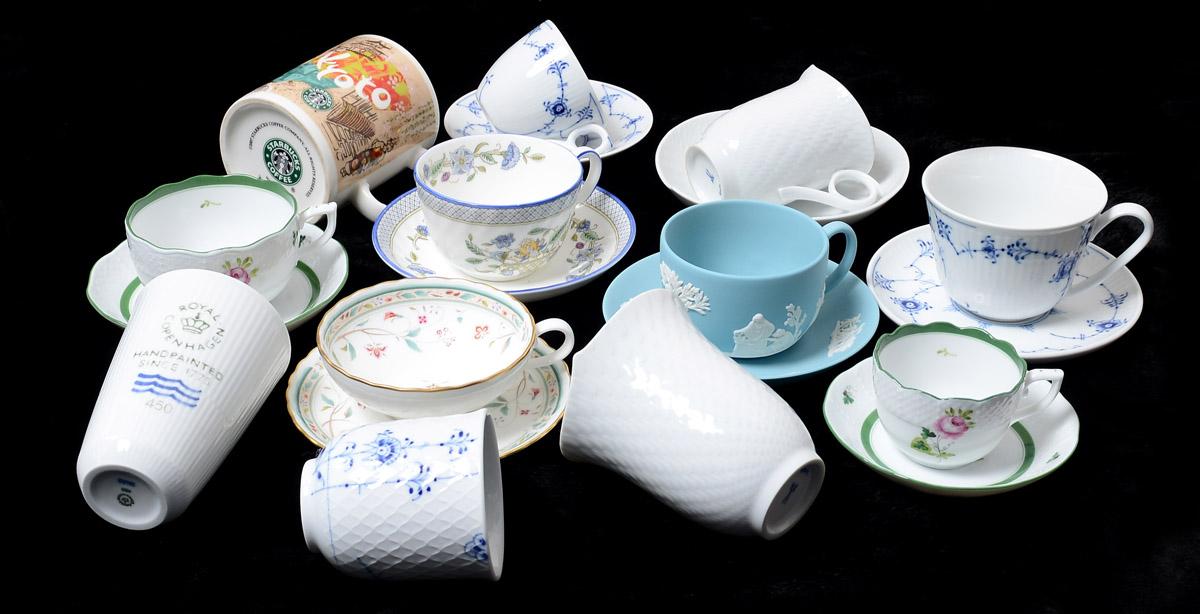 【洋食器】コーヒーカップとティーカップの種類