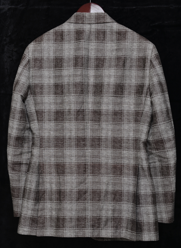 united arrows check jacket02