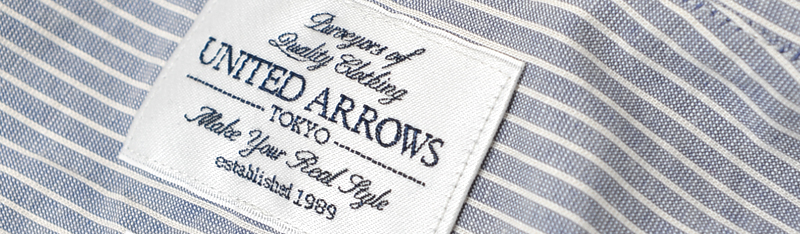 united arrows tag
