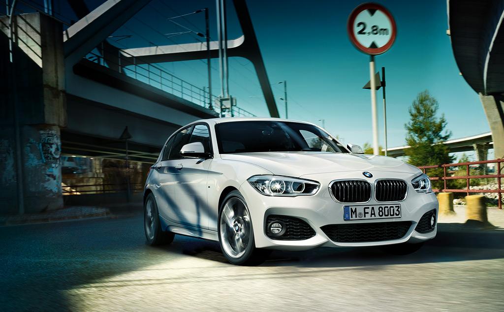 BMW1シリーズがマイナーチェンジでデザインを一新