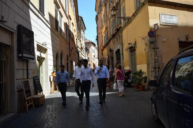 rome shirts style