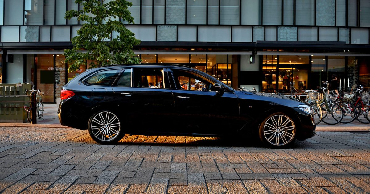 BMW 新型540i ツーリング 試乗レビュー
