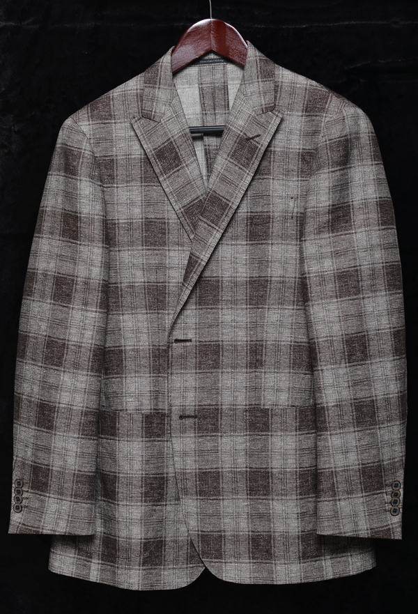 united arrows check jacket01
