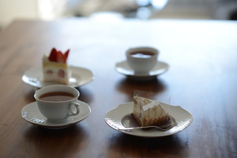 編集部の社食や紅茶の写真集
