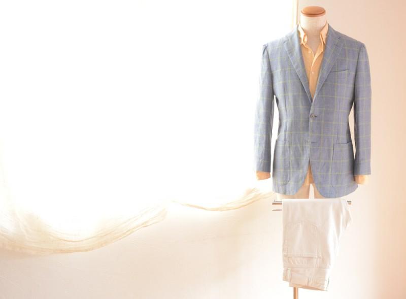 BEAMS F (Jacket) BARBA (Shirts) Edifice (Pants)