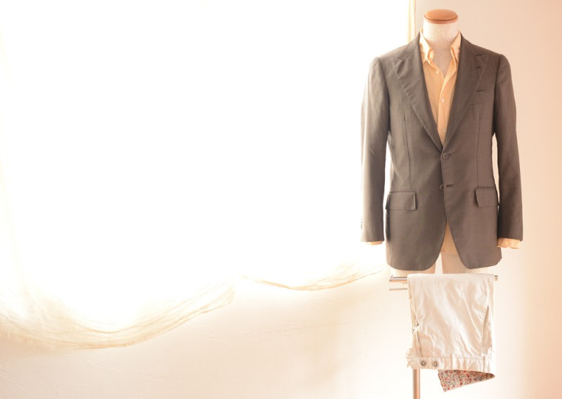 La Vera Sartoria Napoletana (Jackat) BARBA (Shirts) Germano (Pants)