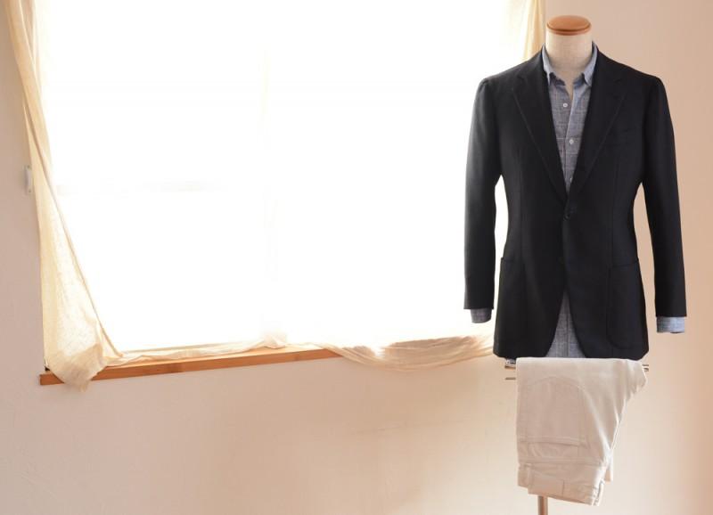 Antonio Panico (Jacket) NORTON & SONS (Shirts) Edifice (Denim)