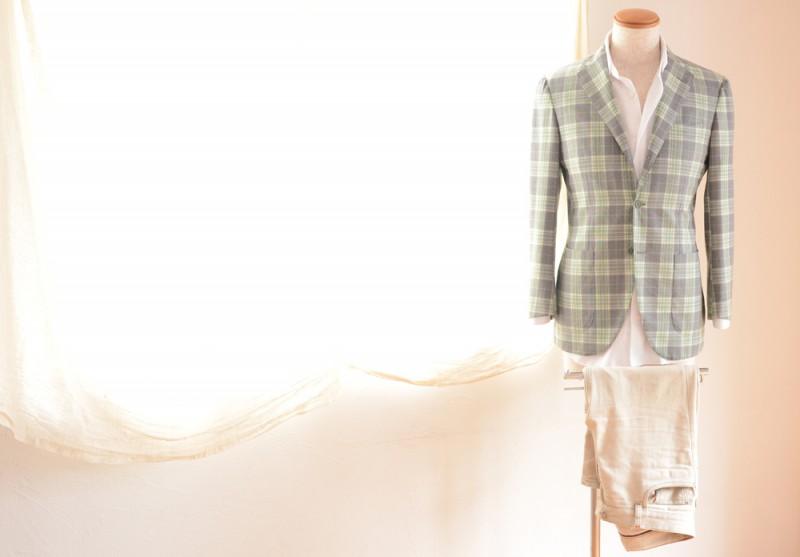 BEAMS F (Jacket) BARBA (Shirts) Loro Piana (Pants)
