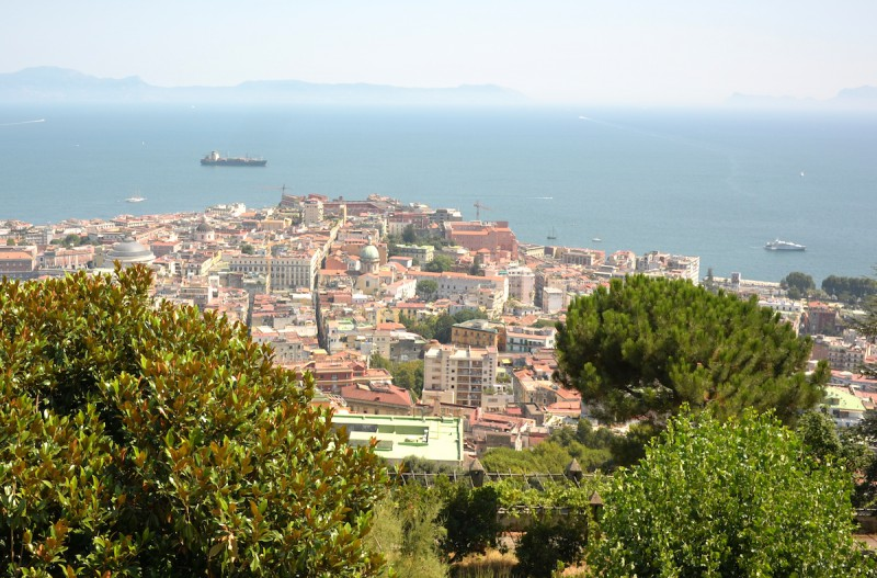 napoli city view