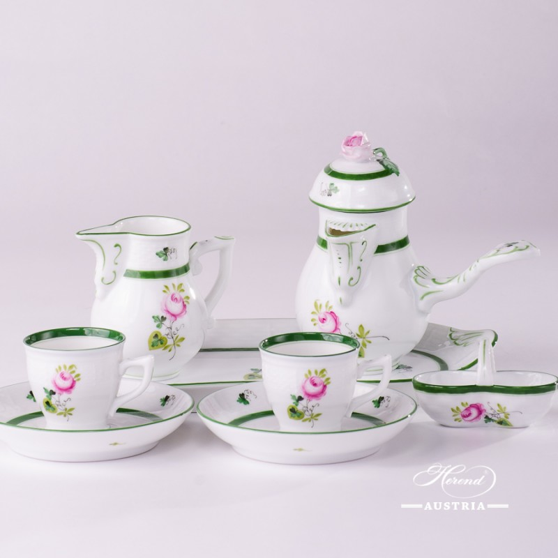 VRH-Vienna-Rose-Herend-Mocha-coffee-set-1