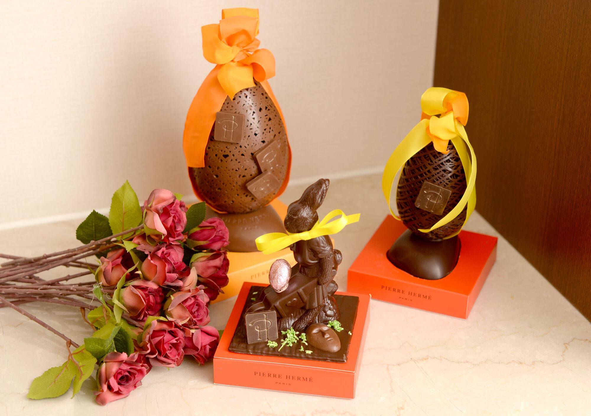 可愛いイースターエッグで復活祭を祝おう!ピエール・エルメ・パリ『ウフ ダンテル』